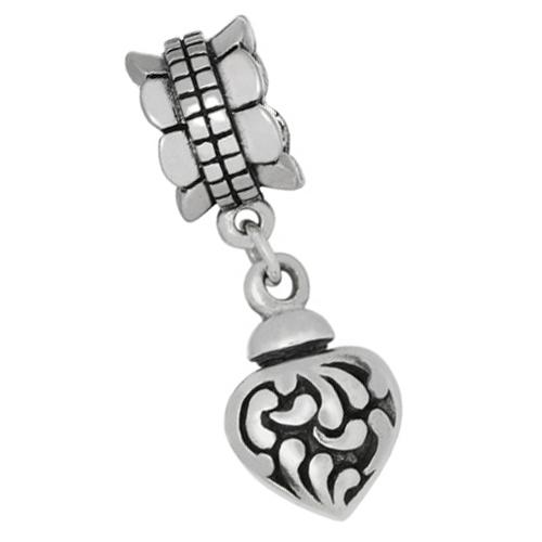Askberlocker i silver
