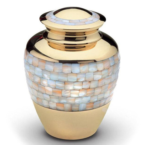 Mässing urnor