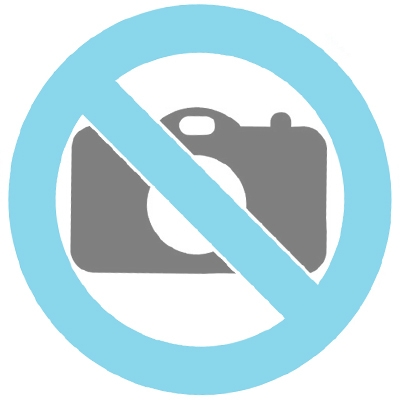 Tysk schäferhund urna bronsfärgad